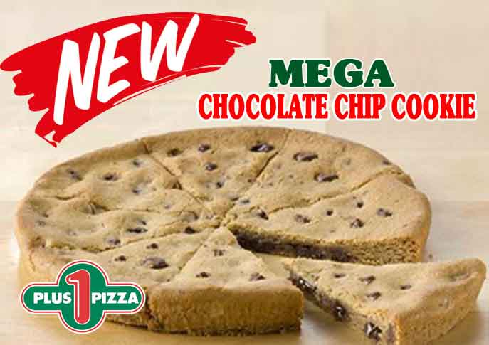 mega chocolate chip cookie